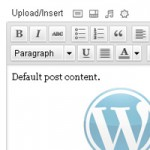 Default Text in Editor - thumbnail
